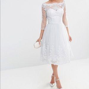 Chi Chi London | Midi Tulle Dress size 12